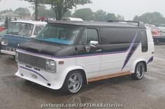 Custom GMC Van