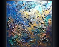 ORIGINAL Abstract Painting ModernTextured by newwaveartgallery