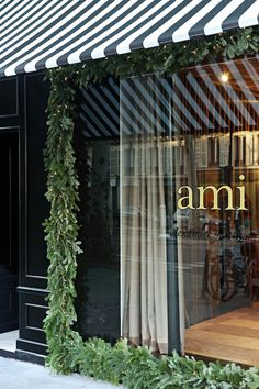 "clothing shop ""ami"" paris / garland"