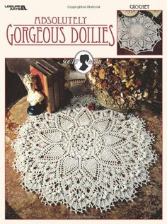 Absolutely Gorgeous Doilies (South Maid--Cover)   Patricia Kristoffersen http://www.amazon.co.jp/dp/1574867229/ref=cm_sw_r_pi_dp_JjnBwb12VQBP6