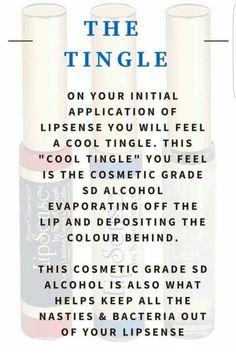 LipSense Tingle #LipSense Distributor 197061 www.SeneGence.com/TimelessEleganceByTara