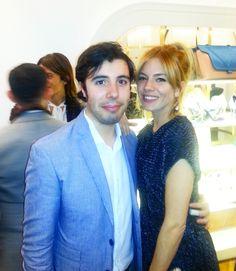 With my friend Sienna Miller to NewYork City. #juliencangelosi #siennamiller #privateparty #fun #friends