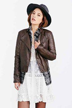 BB Dakota Vendome Vegan Leather Jacket
