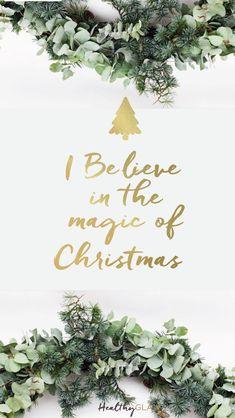 Christmas wreath iphone wallpaper