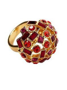 Kate Spade New York Kaleidoball Dome Ring | Piperlime