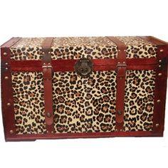 Safari Phat Tommy Leopard Print Trunk