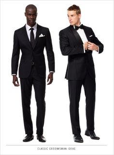 black tie right meow. http://www.weddingchicks.com/2014/02/27/win-1000-to-outfit-your-bridal-party/
