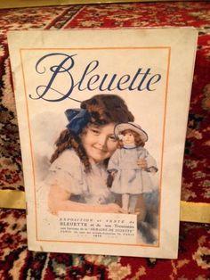 RARE CATALOGUE BLEUETTE - Année 1918 - La Semaine de Suzette - Le trousseau in Jeux, jouets, figurines, Poupées, vêtements, access., Autres   eBay