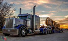 ✿✿Peterbilt custom 379 heavy haul