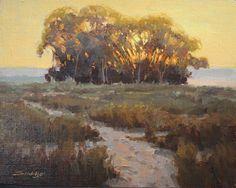 Path to the Light by Robert Sandidge Oil ~ 16 x 20