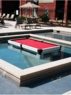 Pool Table Inside A Pool