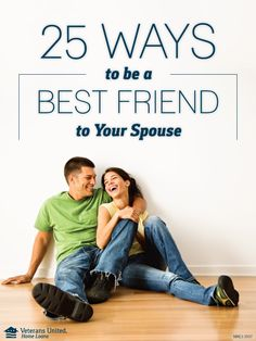 Strong marriages have strong foundations in friendship that will help you grow together over the years as a couple.