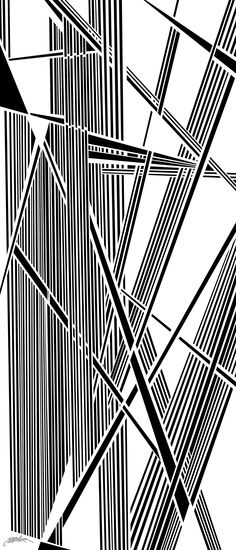 activate - Dynamic black and white optical obsession, organic abstract by Douglas Christian Larsen - http://fineartamerica.com/featured/activate-douglas-christian-larsen.html