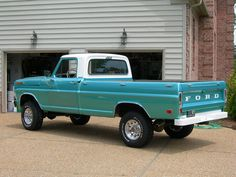 1968 Ford Pickup, I need this in my life.