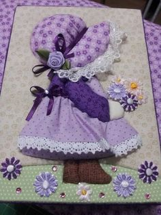 Resultado de imagen para tips for making sunbonnet sue quilt Sewing Appliques, Applique Patterns, Applique Quilts, Applique Designs, Quilting Designs, Quilt Patterns, Embroidery Designs, Sewing Patterns, Patchwork Quilting