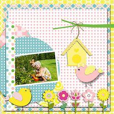 Garden Digital Scrapbooking by DigiScrapDelights,