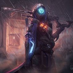 I made some overwatch art but it seemed fitting t Overwatch Comic, Overwatch Fan Art, Cyberpunk Character, Cyberpunk Art, Overwatch Wallpapers, Overwatch Drawings, Gaming Wallpapers, Shadowrun, Sci Fi Fantasy