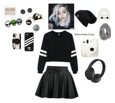 """""""OC Style"""" by jitteryjasper ❤ liked on Polyvore featuring Fuji, adidas, Beats by Dr. Dre, Kate Spade, NAVUCKO and Disney"""