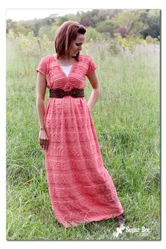 Sugar Bee Crafts: sewing, recipes, crafts, photo tips, and more!: Ruffled Maxi Dress Tutorial