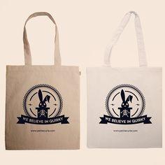 http://petitecurie.com #totebag #cute #bunny 5€