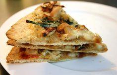 Homemade Thin Crust Pizza Dough & Sauces