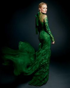 Emerald Green Lace Dress Images & Pictures - Becuo