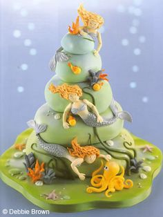 Mermaid Cake! by Enchanting Magical Cakes