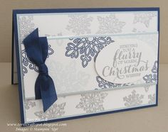 Stampin' Up - Flurry Of Wishes ..... Teri Pocock - http://teriscraftspot.blogspot.co.uk/2015/09/flurry-of-wishes.html