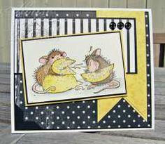 """""""Double Trouble,"""" by Dorte Kvist on House-Mouse Designs®"""