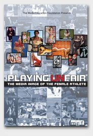 It has been 30 years since Title IX legislation granted women equal playing time, but the male-dominated world of sports journalism has yet to catch up with the law. Coverage of women's sport lags far behind men's, and focuses on female athletes' femininity and sexuality over their achievements on the court and field. While female athleticism challenges gender norms, women athletes continue to be depicted in traditional roles that reaffirm their femininity (MEF)