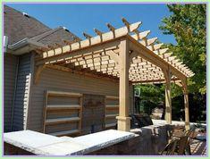 wood patio roof kits-#wood #patio #roof #kits Please Click Link To Find More Reference,,, ENJOY!! Cedar Pergola Kits, Pergola D'angle, Pergola Ideas For Patio, Curved Pergola, Steel Pergola, Pergola With Roof, Pergola Lighting, Cheap Pergola, Pergola Shade