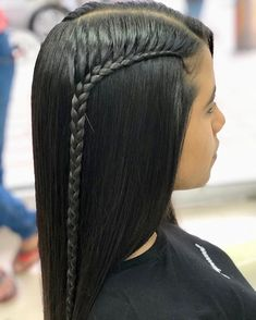 Easy Hairstyles For Long Hair, Different Hairstyles, Cute Hairstyles, Braided Hairstyles, Straight Hairstyles, Daily Beauty Tips, Brunette Makeup, Front Hair Styles, Baddie Hairstyles