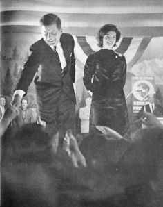 The United States presidential election of 1960 JFK And Jackie ♡✿♡✿♡✿.❀♡✿♡❁♡✾♡✽♡ http://en.wikipedia.org/wiki/United_States_presidential_election,_1960