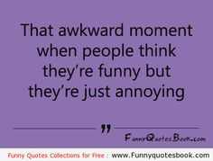 Annoying moment with non Funny People
