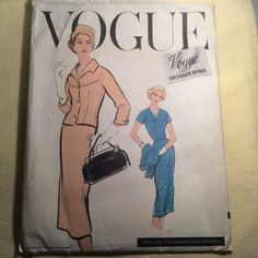 Condition is Used. This is in very good condition. Vintage Vogue, Cool Suits, The Originals, Prints, Pattern, Ebay, Design, Patterns, Model