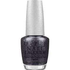 OPI Designer Series Pewter Nail Lacquer (¥910) ❤ liked on Polyvore featuring beauty products, nail care, nail polish, nail, polish, black, opi nail color, opi, opi nail polish and opi nail care