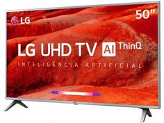"Smart TV 4K LED 50"" LG 50UM7500 Wi-Fi - Inteligência Artificial Conversor Digital 4 HDMI - Magazine Lojajessi Wi Fi, Usb, Tv Oled, Samsung 4k, Monitor Tv, Smart Tv 4k, How To Get, Magazine"
