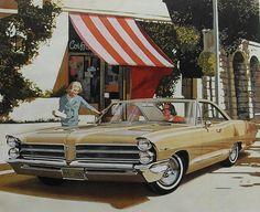 1965 PONTIAC advertisement illustration vintage car 1960s automobile by Christian Montone, via Flickr