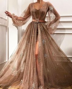 Evening Gowns Dresses For Women Elegant Dresses, Pretty Dresses, Beautiful Dresses, Simple Dresses, Classic Dresses, Unique Dresses, Prom Dresses Long With Sleeves, Cheap Prom Dresses, Sexy Dresses