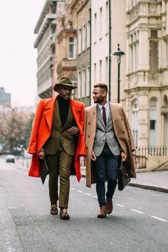 Some sartorial inspiration from the fellas — and a few ladies and kids, too.