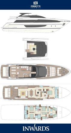 Explore the Riva 100 Corsaro. Big Yachts, Small Yachts, Super Yachts, Luxury Yachts, Make A Boat, Build Your Own Boat, Yacht Design, Boat Design, Speed Boats