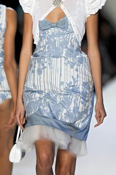 """forlikeminded: """" Moschino - Milan Fashion Week - Spring 2007 """""""