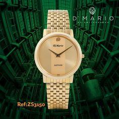 Gold Watch, Bracelet Watch, Sapphire, Bracelets, Accessories, Men Watches, Men, Bracelet, Arm Bracelets