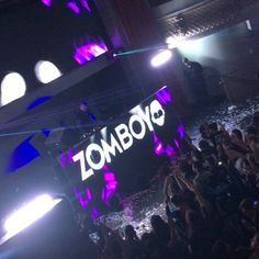 Zomboy performed on Saturday at Ruby Skye