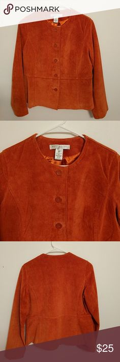 Pursuits suede jacket This is 100% genuine leather. It is in excellent condition Pursuits Jackets & Coats
