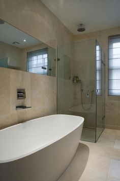 Belgravia House by Staffan Tollgard Design Group (17) idea for en suite
