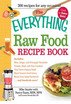 The everything raw food recipe book 9781440500121 hr