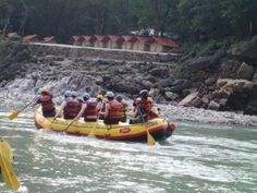Rafting on the Ganges