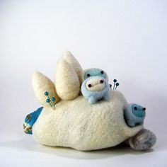 Too cute needle felted sculpture