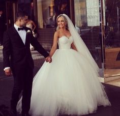 Ball Gown Wedding Dresses , Beading Wedding Dresses